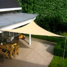 Etonnant Greenfingers Shade Sail   5m Triangle Might Work For My Camper