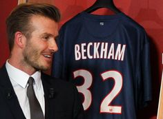 Beckham back in europe