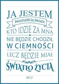 Motywy religijne nie zawsze muszą być kiczowatymi obrazkami. Z tego wpisu możecie za darmo pobrać plakaty typograficzne z cytatami z Biblii.