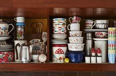 Cupboards full to bursting. Love home. | Cath Kidston
