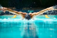 The wave-like body movements are at the heart of the butterfly stroke. Description from enjoy-swimming.com. I searched for this on bing.com/images