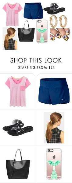 """""""Month Outfits: July!"""" by sisibff ❤ liked on Polyvore featuring Joules, NIKE, Ficcare, Alexander McQueen, Casetify and Ileana Makri"""
