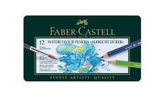 Faber-Castell Albrecht Durer Watercolour Pencils - Tin of 120: Amazon.co.uk: Office Products