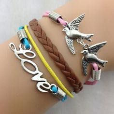 Flying Birds Love
