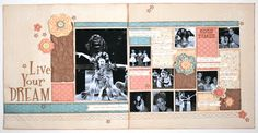 February Play Group Scrappin' Class Layouts (Clementine)