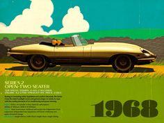 Jaguar advertising.