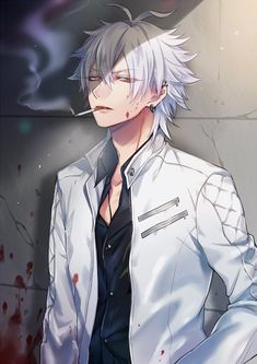 Twitter Anime Tumblr, M Anime, Anime Eyes, Anime Demon, Anime Art, Cool Anime Guys, Hot Anime Boy, Handsome Anime Guys, Dark Anime Guys
