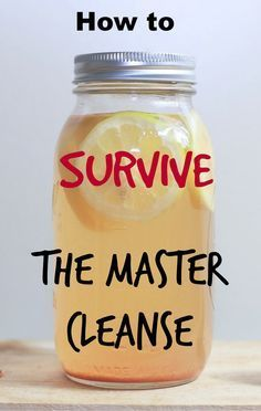 Need to feel better in that bikini for summer?  Time the Master Cleanse to lose up to 20 pounds!