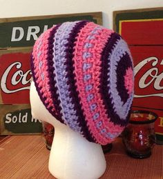 Girls slouch hat on Etsy, $13.00