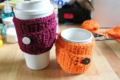 StormFly Crafts: Awesome Coffee Mug Cozy pattern