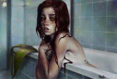 ArtStation - mermaid, Elena Sai