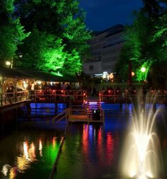 Rimini - place to be in summer Bars And Clubs, My Big Love, Zurich, Small Towns, Restaurant Bar, Foodies, Restaurants, Waterfall, Spaces