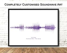 Personalised Soundwave Print, Gift for Wedding, First Anniversary, Couples Soundwave Art, Waveform P Happy Anniversary Wishes, First Anniversary Gifts, Wedding Songs, Wedding Gifts, Etsy Best Sellers, First Dance Songs, Star Chart, Sound Waves, Handmade Gifts