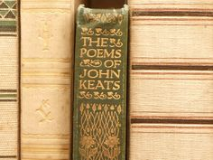 1900s poetry book The Poems of John Keats