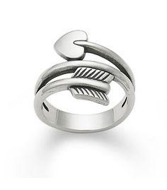 Arrow & Heart Ring: James Avery