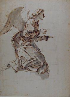 Figure Drawing, Painting & Drawing, Drawing Sketches, Art Drawings, Arte 8 Bits, Posca Art, Angel Drawing, Angel Art, Renaissance Art