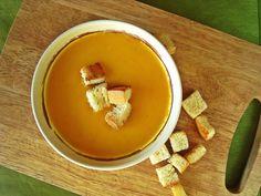 Simply delicious: Kremowa zupa z dyni hokkaido