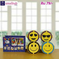 Picnic Smiley Lunch Box(double decker) Price is per single piece Picnik Smilly Lunch Box (Free Gift Bag) Return Gifts For Kids, Birthday Return Gifts, Single Piece, Giving, Food Grade, Smiley, Free Gifts, Picnic, How To Look Better