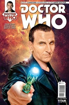 The Hardcover of the Doctor Who: The Ninth Doctor Volume 2 - Doctormania by Cavan Scott, Adriana Melo, Chris Bolson Doctor Who Comics, Captain Jack Harkness, Ninth Doctor, John Barrowman, Doctor Who Quotes, Christopher Eccleston, Rory Williams, The Nines, Favim