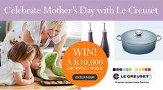 Enter the Le Creuset Mother's Day competition. Visit www.facebook.com/LeCreusetSA. Popular Food, Popular Recipes, Ps I Love, Cake Shop, Le Creuset, Shopping Spree, Shop Ideas, So Little Time, Kitchen Gadgets