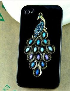 peacock Iphone cover