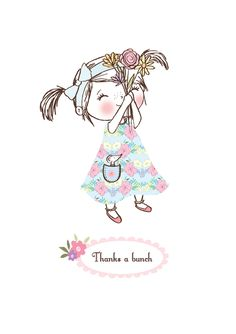 'Thanks a Bunch' Greeting Card,