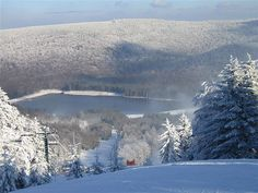 4) Snowshoeing location you would like to try this winter - I plan on going to Snowshoe Mountain in West Virginia this upcoming winter - perfect spot for snowshoeing!!