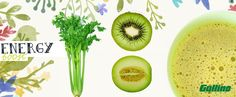 #Energia da dipendenza di #frutta e #verdura #fruit #kiwi #Gullino #sedano #avocado #energy