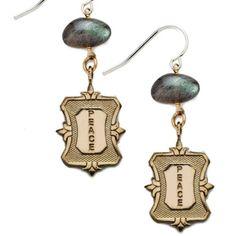 Fashion Jewelry, Peace, Costume, Drop Earrings, Drop Earring, Fancy Dress, Sobriety, Costumes, Stylish Jewelry