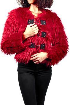 Tripp NYC Big Ring Fur Jacket - TrashandVaudeville.com