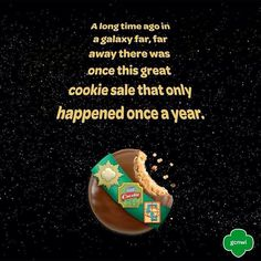 for those of you at the beginning girl scout cookie sales