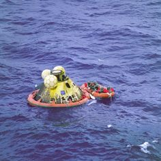 Apollo 11 Splashdown 45 Years Ago on July 24, 1969 Concludes 1st Moon Landing Mission – Gallery