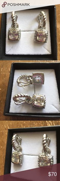 JUDITH RIPKA: Earrings Sterling silver solid 925🎀 JUDITH RIPKA: earrings Sterling silver solid 925🎀 JUDITH RIPKA Jewelry Earrings