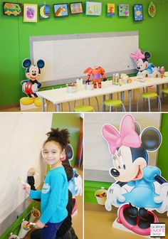 | How to Throw an App Themed Art Party with Disney Creativity Studio 2 | http://soiree-eventdesign.com