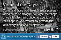 1 Timothy 6:17