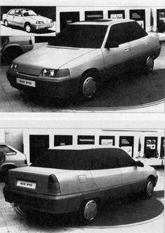 OG   1996 VAZ-2110 / ВАЗ-2110 / Lada 110 - Serie 200   Mock-up