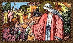 Dez a pedir, um a louvar III Jesus sempre achou virtude nos pecadores, tanto que as pessoas que mais gratamente o surpreenderam e a quem os seus maiores elogios foram dirigidos eram estrangeiros e proscritos, enquanto que nos retos encontrou apenas decepção.