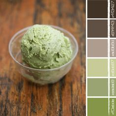 Browns and greens and gray <3 it!