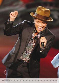 Calendario Bruno Mars, 2015 Foto 1