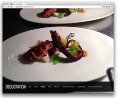 10 Well-Designed Restaurant Websites Powered by Squarespace - Design Milk Restaurant Website Design, Pub Design, Wine List, Website Design Inspiration, Wellness, Square Space, Food, Decor, Presentation