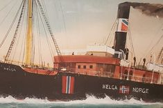 DS Helga bygget 1909.