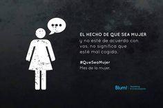 #QueSeaMujer