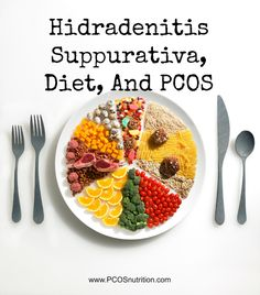 How diet can improve the skin condition Hidradenitis Suppurativa in PCOS