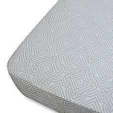 image of Oliver B Mix & Match Patterned Fitted Crib Sheets