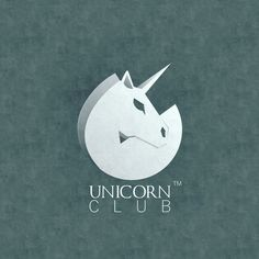 Unicorn logo by me