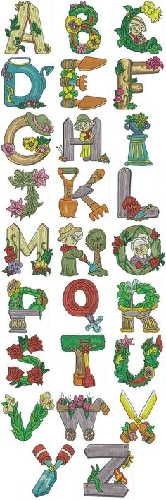 http://www.grandembroiderydesigns.com/217-gardening-alphabet-machine-embroidery-design.php