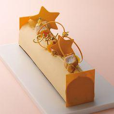 高島屋限定 ブッシュ キャラメル ショコラ オランジュ Christmas Log, Christmas Sweets, Log Cake, Gift Cake, Chocolate Orange, Round Cakes, Confectionery, Celebration Cakes, Chocolate Desserts