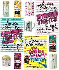 With Love for Books: Books by Louise Rennison, Tea, Chocolate, Candy & ...