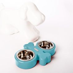 Goody Dog Bowl Light Blue, $115, now featured on Fab.