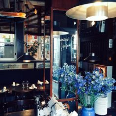 to eat.  Havfruen! Go for the food and the interior!!!  #havfruen #copenhagen #restaurant #newintown #lppcityguidetocph #cntraveller #food #wine #dessert #lunch #dinner #interiorinspiration #pretty #design #yum #ediblecopenhagen